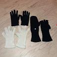 Отдается в дар Белые женские перчатки