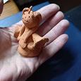 Отдается в дар Куколка Снегурочка под роспись Керамика
