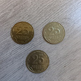 Отдается в дар Украинские монеты.
