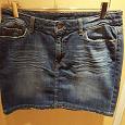 Отдается в дар Юбка джинсовая размер 42-44 H&M