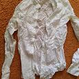 Отдается в дар блузка для школы XXS