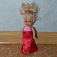 Отдается в дар Кукла в красном платье