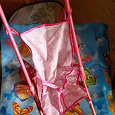 Отдается в дар Коляска-трость для куклы