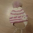 Отдается в дар Зимняя шапочка для девочки.