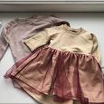 Отдается в дар Платье и толстовка для девочки 2-3 лет