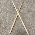 Отдается в дар Барабанные палочки настоящие деревянные