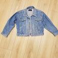 Отдается в дар джинсовая куртка р 128 см