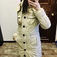 Отдается в дар Длинная куртка женская на весну (размер xs)