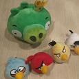 Отдается в дар Интерактивная игра «Angry Birds»: Свинка, 4 Птички