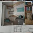 Отдается в дар Дизайн-проект двухкомнатной квартиры