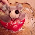 Отдается в дар символ нового года ~мышка с сердечком