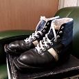 Отдается в дар Ботинки лыжные 39 размер