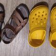 Отдается в дар Обувь лето для девочки