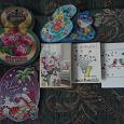 Отдается в дар Мини-открытки новогодняя и 8 Марта