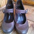 Отдается в дар Обувь 35.5 36 размера: черные и коричневые туфли