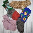 Отдается в дар Шерстяные носки