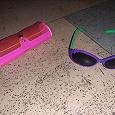Отдается в дар Детские солнцезащитные очки и футляр
