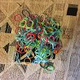Отдается в дар Резиночки разноцветные(много)-для плетения