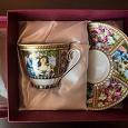 Отдается в дар Чайная пара в подарочной упаковке