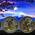 Отдается в дар Япония на декоративных настенных тарелочках