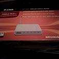 Отдается в дар Роутер ADSL — WiFi 802.11g (до 54 Мбит/с) — D-Link DSL-2600U