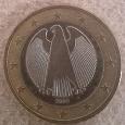 Отдается в дар Орел с немецкого герба 1 евро Германия