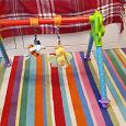 Отдается в дар Детская перекладина с игрушками