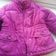 Отдается в дар Куртка для девочки,98