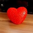 Отдается в дар Ночник «Сердце»