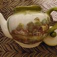 Отдается в дар чайник керамика б/у, КРАСОТА! есть нюансы.