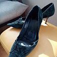 Отдается в дар Женские туфли Замша LUCCA на 38 размер. Каблук 7 см.