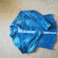 Отдается в дар Рубашка джинсовая