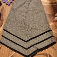 Отдается в дар Необычная длинная юбка, рр 44-46