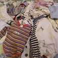 Отдается в дар пакет вещей для малыша 0-12 месяцев