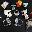 Отдается в дар Маленькие игрушки для детей, фигурки, кольца
