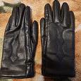 Отдается в дар Перчатки кожа черные