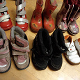 Отдается в дар Обувь для девочки 23-24 размеры
