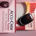 Отдается в дар Глюкометр Accu-Chek Performa Nano