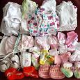 Отдается в дар Одёжка для новорожденной 56-62