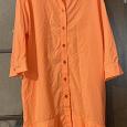 Отдается в дар Рубашка- платье, размер 46-48