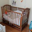 Отдается в дар Детская кровать для малыша до года