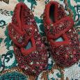 Отдается в дар Летняя обувь для девочки, 13 см