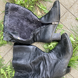 Отдается в дар Зимние сапоги р 40, на широкую ногу