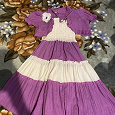 Отдается в дар Сарафан и платье на 9-10 лет