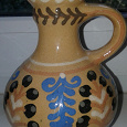 Отдается в дар Глиняная вазочка-кувшин