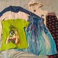 Отдается в дар Одежда для девочки, рост 122-128.