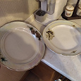 Отдается в дар Две большие тарелки