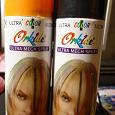 Отдается в дар Цветной лак для волос