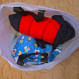 Отдается в дар Пакет с детской одеждой от 3 месяцев до 1 года.