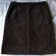 Отдается в дар юбка коричневая (размер 42-44)
